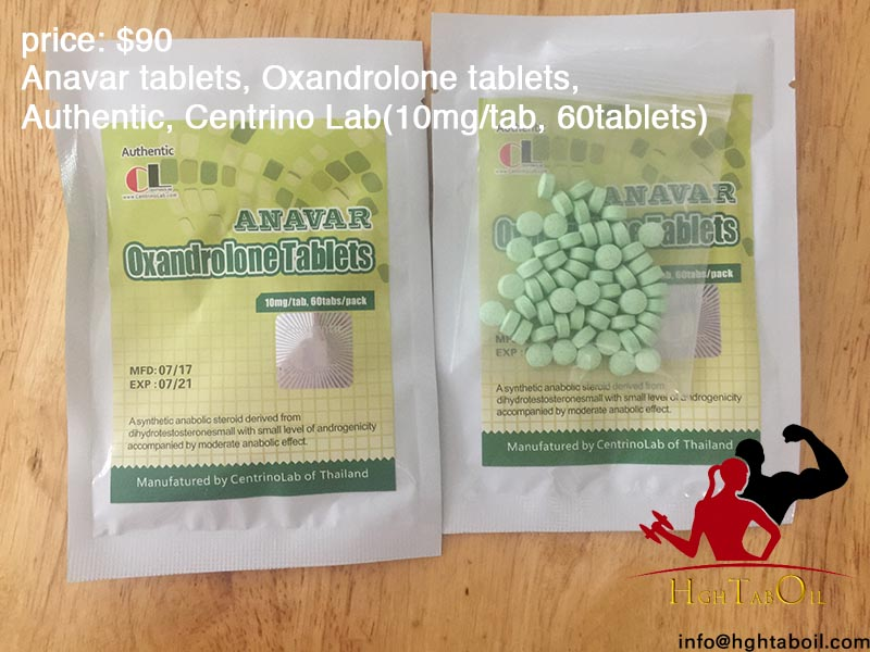 Anavar tablets, Oxandrolone tablets, Authentic, Centrino Lab(10mg/tab, 60tablets)