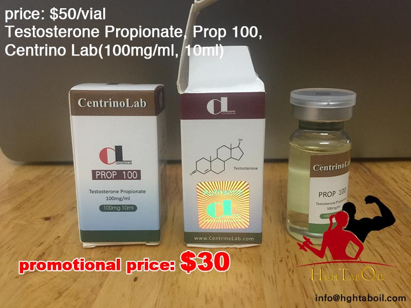 Testosterone Propionate, Prop 100, Centrino Lab(100mg/ml, 10ml)