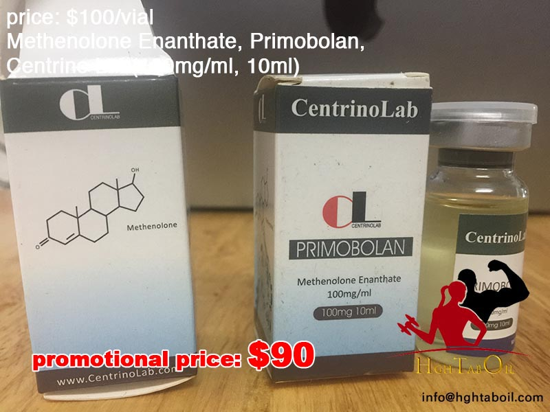 Methenolone Enanthate, Primobolan, Centrino Lab(100mg/ml, 10ml)