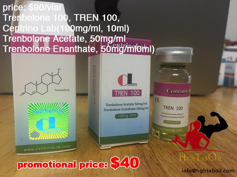 Trenbolone 100, TREN 100, Centrino Lab(100mg/ml, 10ml)