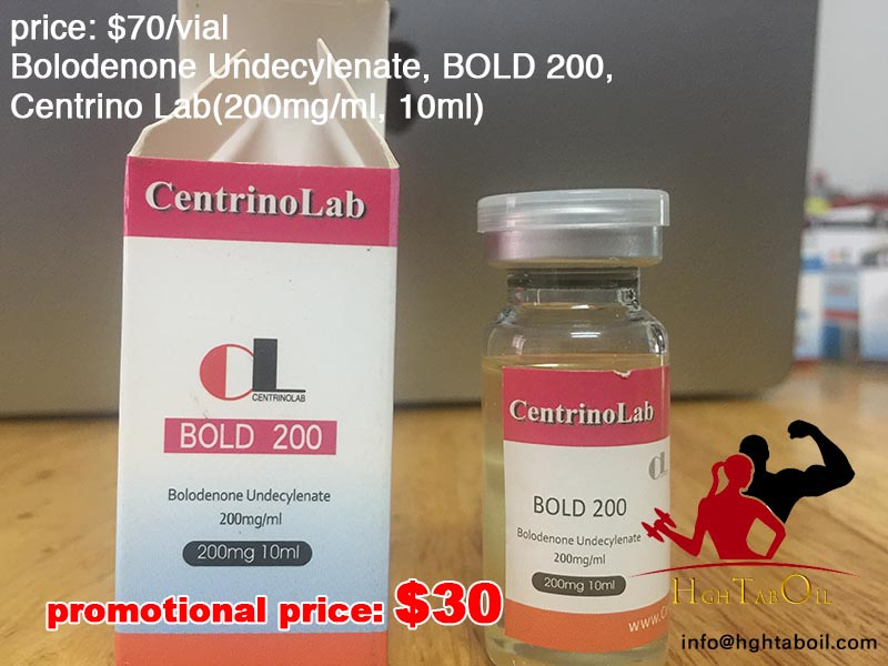 Bolodenone Undecylenate, BOLD 200, Centrino Lab(200mg/ml, 10ml)