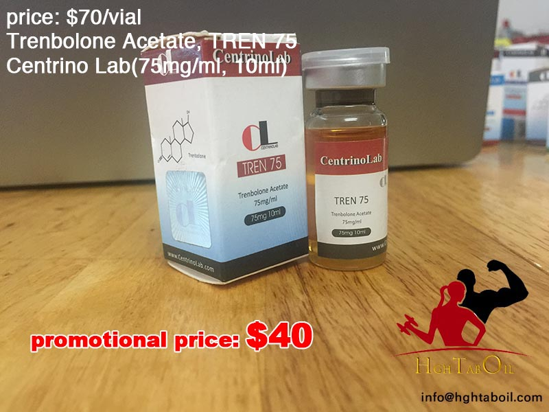 Trenbolone Acetate, TREN 75, Centrino Lab(75mg/ml, 10ml)