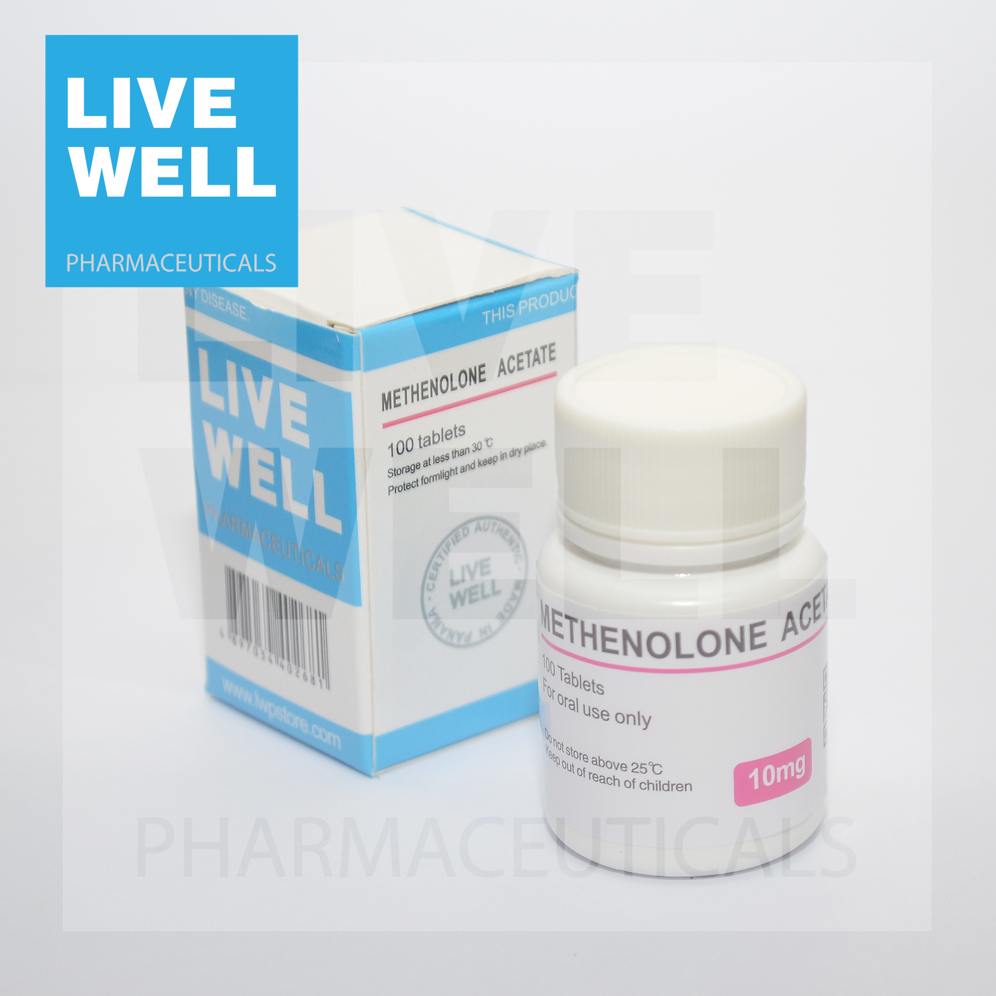 METHENOLONE ACETATE Primobolan 10MG