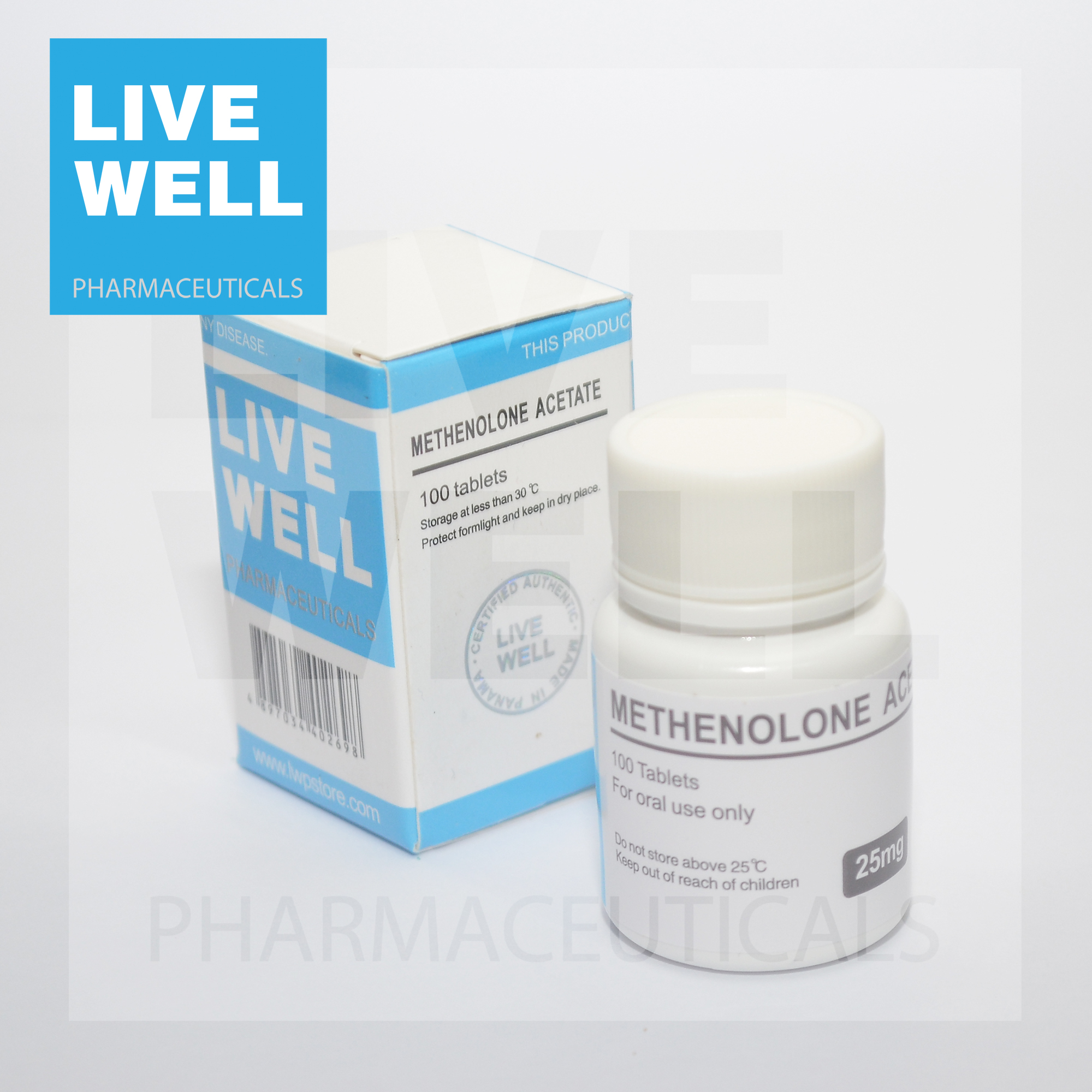 METHENOLONE ACETATE Primobolan 10MG - 副本